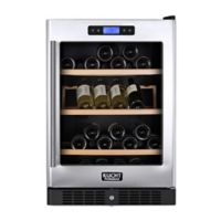 Kucht 54-Bottle Dual-Zone Wine Cooler