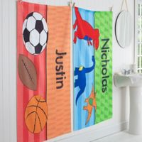 Just for Him Personalized Bath Towel