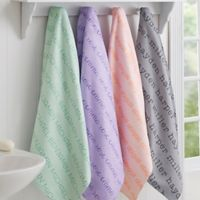 Playful Name Personalized Bath Towel