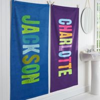 All Mine! Personalized Bath Towel