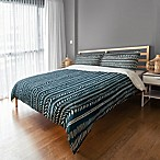 Designs Direct Dash Queen Duvet Cover in Blue