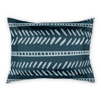 Designs Direct Dash King Pillow Sham in Blue
