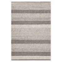 Chandra Rugs Forstel Hand-Woven 7'9 x 10'6 Area Rug in Grey