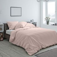 Heritage Reversible King Duvet Cover in Blush