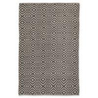Jaipur Flume Trellis 8' x 11' Indoor/Outdoor Area Rug in Black