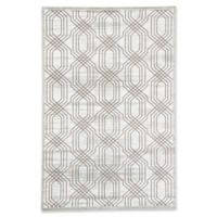 Jaipur Carlyle Trellis 2' x 3' Accent Rug in White