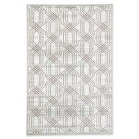 Jaipur Carlyle Trellis 5' x 7'6 Area Rug in White