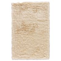 Jaipur Heron Shag 5' x 7'6 Area Rug in Cream