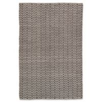 Jaipur Percey 5' x 8' Handmade Area Rug in Black/Cream