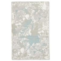 Jaipur Adina 2' x 3' Hand Knotted Accent Rug in Grey/White