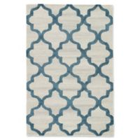 Jaipur Miami 5' x 8' Hand Tufted Area Rug in Silver/Blue
