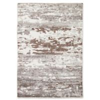 Jaipur Krona 5' x 8' Hand Knotted Area Rug in Grey/White