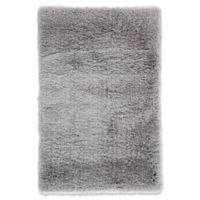 Jaipur Seagrove 2' x 3' Shag Accent Rug in Light Grey