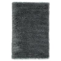 Jaipur Seagrove 5' x 8' Shag Area Rug in Dark Grey
