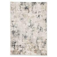 Jaipur Lynne 7'6 x 9'6 Area Rug in White/Grey
