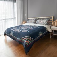 Designs Direct Mandala Twin Duvet Cover in Blue