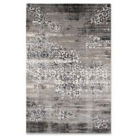 Momenti Juliet Vintage Scroll 2' x 3' Accent Rug in Grey