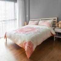 Designs Direct Mandala King Duvet Cover in Pink