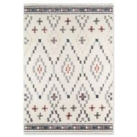 Momeni Lima Diamond 2' x 3' Accent Rug in Ivory