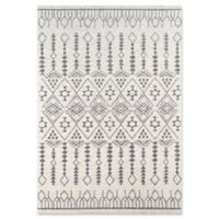 Momeni Lima Geometric 2' x 3' Accent Rug in Ivory