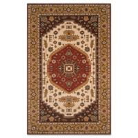 Momeni Persian Garden 2' x 3' Accent Rug in Cocoa