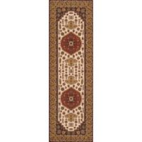 Momeni Persian Garden 2'6 x 8' Runner in Cocoa