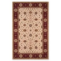 Momeni Persian Garden Floral Border 3' x 5' Area Rug in Ivory
