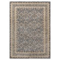 Momeni Caspian Medallion 2'3 x 3'9 Accent Rug in Grey