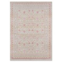 Momeni Isabella Floral 4' x 6' Area Rug in Pink