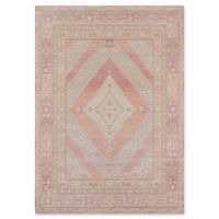 Momeni Isabella Medallion 2' x 3' Accent Rug in Pink