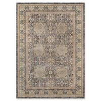 Momeni Caspian Floral Abstract 4' x 6' Area Rug in Grey