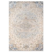 Momeni Amelia Floral 2' x 3' Accent Rug in Beige