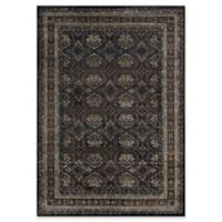 "Momeni Encore Geometric Floral 2'3"" X 4'5"" Accent Rug in Charcoal"