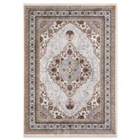 Momeni Brighton Medallion 2' x 3' Accent Rug in Ivory