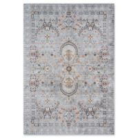 Momeni Brighton Loomed Accent Rug in Light Blue