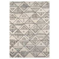 Momeni Lima Loomed 5'3 x 7'6 Accent Rug in Ivory