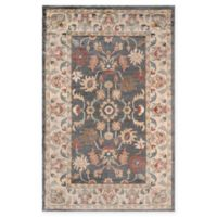 Momeni Colorado Floral 2' x 3' Accent Rug in Charcoal