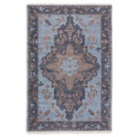 Jaipur Savona 8' x 10' Hand Knotted Area Rug in Blue/Brown