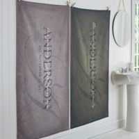 """The Heart of Our Home"" Bath Towel"