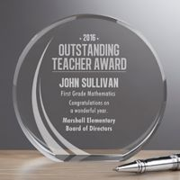 Outstanding Teacher Premium Crystal Award