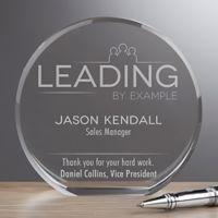 Inspirational Employee Premium Crystal Award