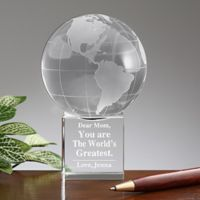 World's Greatest Mom Globe