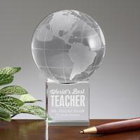 World's Best Teacher Globe