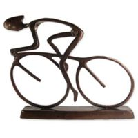 Danya B.™ Large Cyclist Aluminum Sculpture