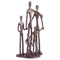 Danya B™ Family of Five 10.75-Inch Bronze Sculpture