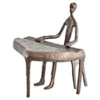 Danya B.™ Piano Player Bronze Sculpture