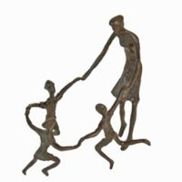 Danya B.™ Ring Around the Rosie Bronze Sculpture