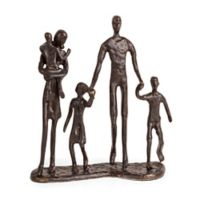 Danya B.™ Family of Five 7-Inch Bronze Sculpture