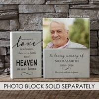 Heaven in Our Home Rectangle Shelf Blocks (Set of 2)