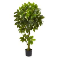 Nearly Natural 6-Foot Schefflera Artificial Tree in Green
